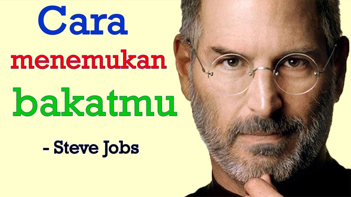 Kisah inspiratif hidup Steve Jobs