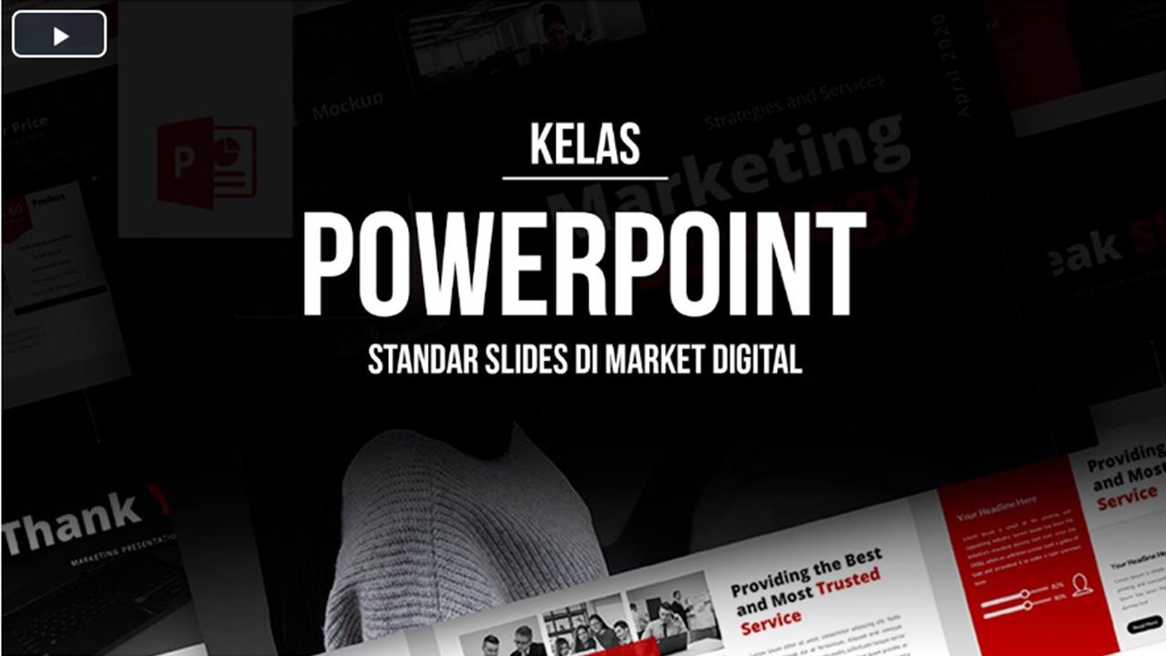 Jumlah Slides untuk Presentasi Template PowerPoint