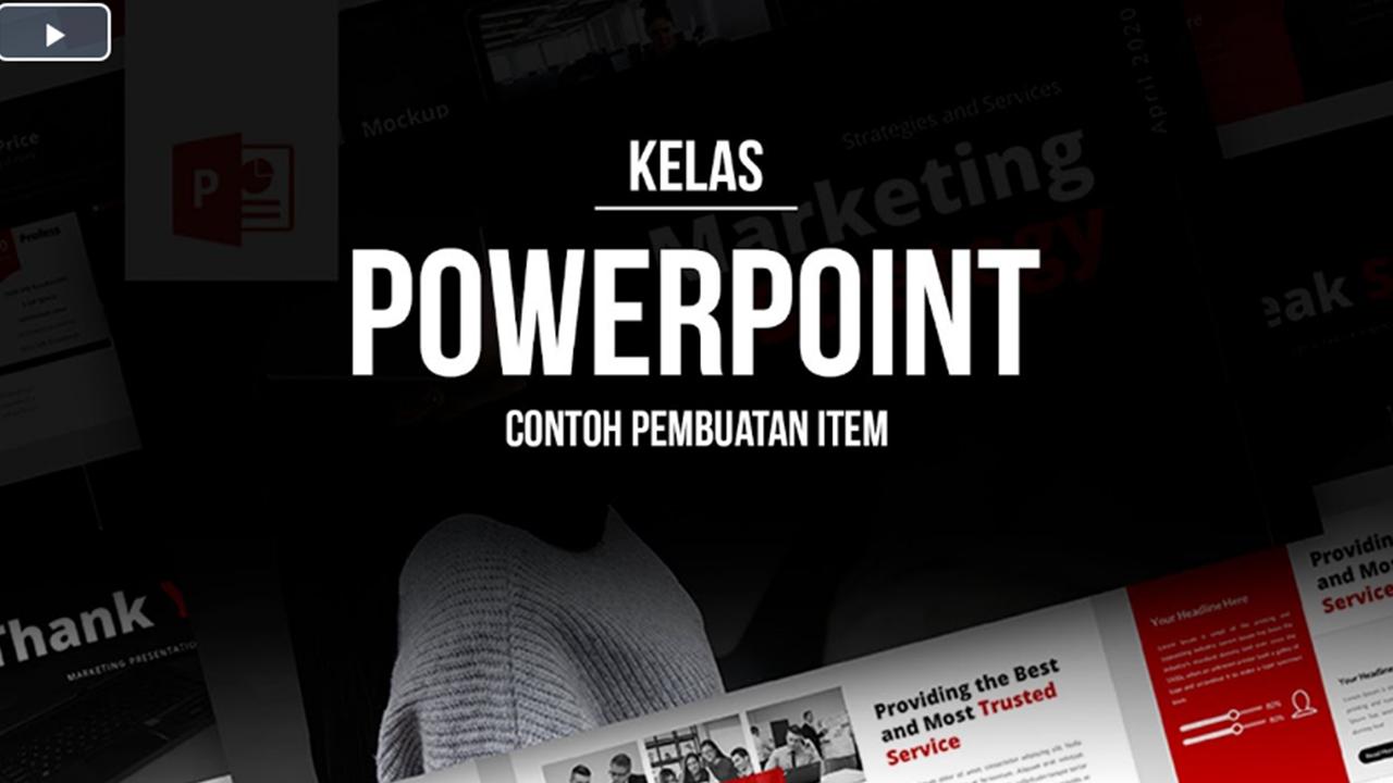 Studi Kasus Pembuatan Slide Presentasi PowerPoint