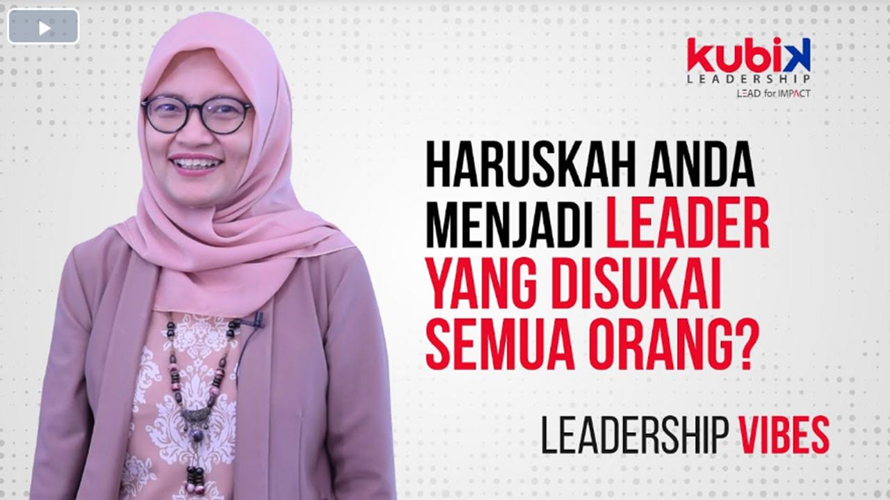 Leader yang disukai semua orang??