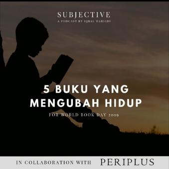 5 Buku Yang Mengubah Hidup Gue