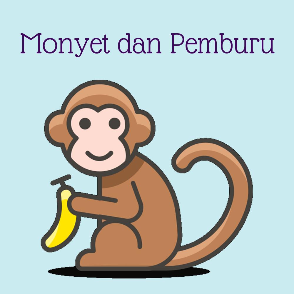 Monyet dan Pemburu