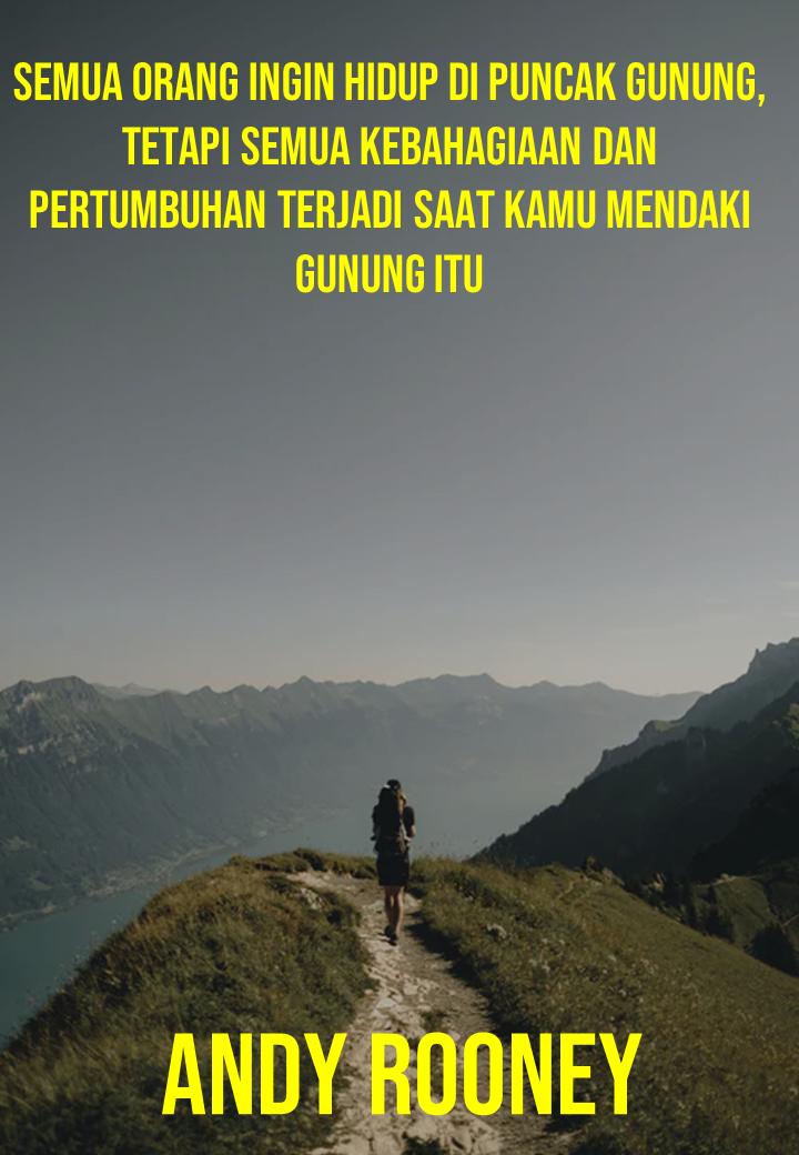 Hidup di puncak gunung