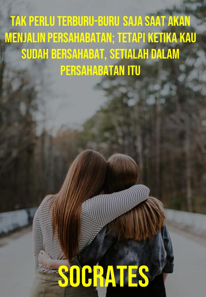Terburu-buru menjalin persahabatan