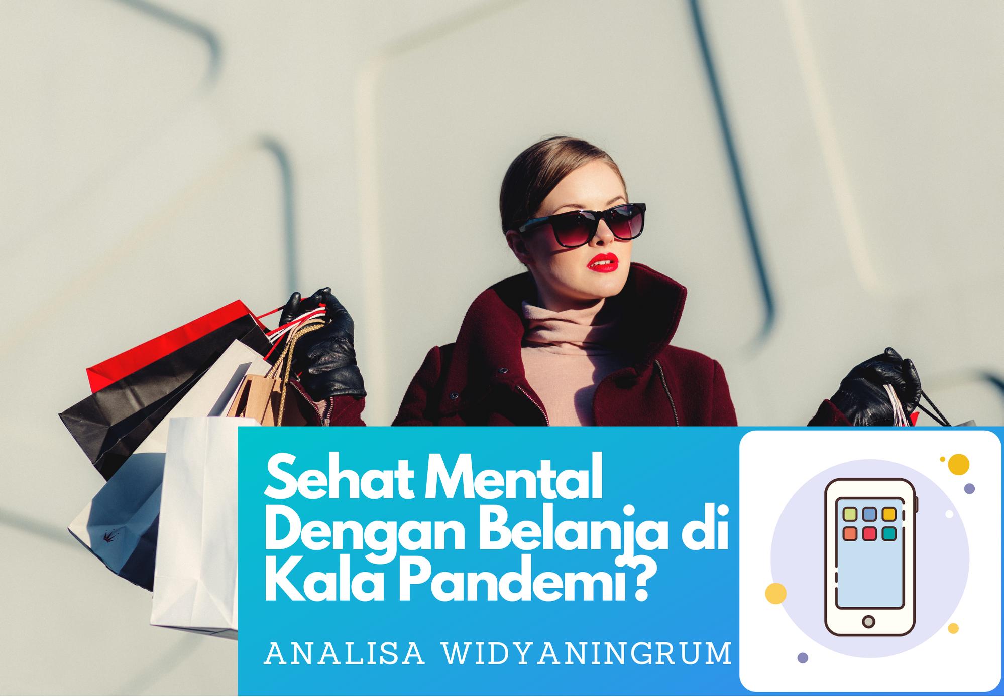 Sehat Mental Dengan Belanja?