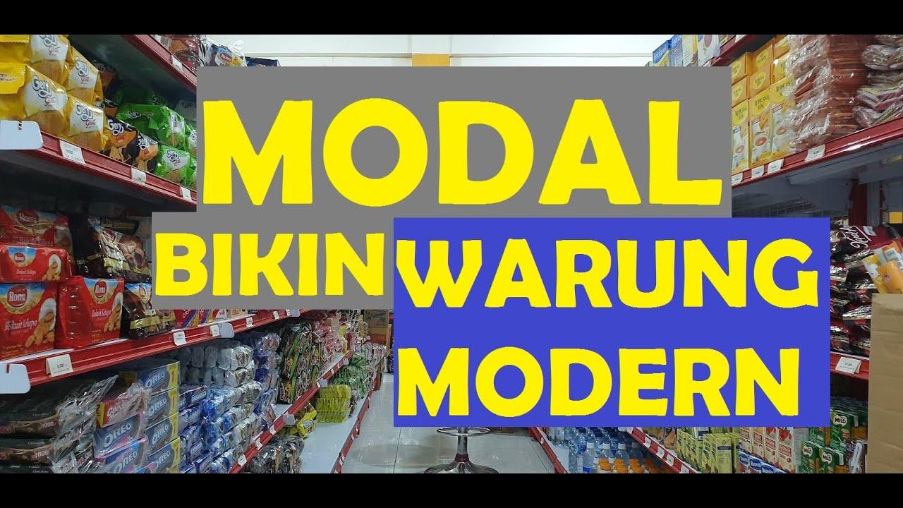 MODAL RECEH BIKIN WARUNG MODERN