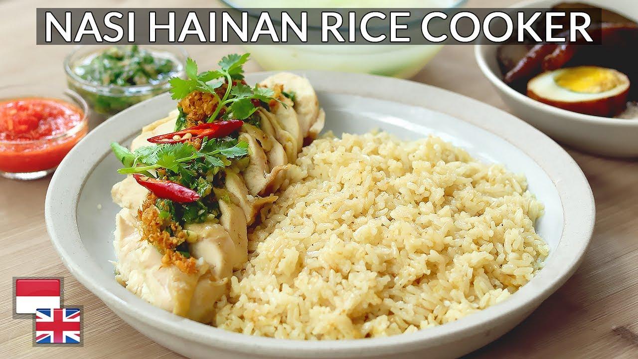 Bukan Resep Biasa Cuma Modal Rice Cooker Bisa Buat Nasi Hainan